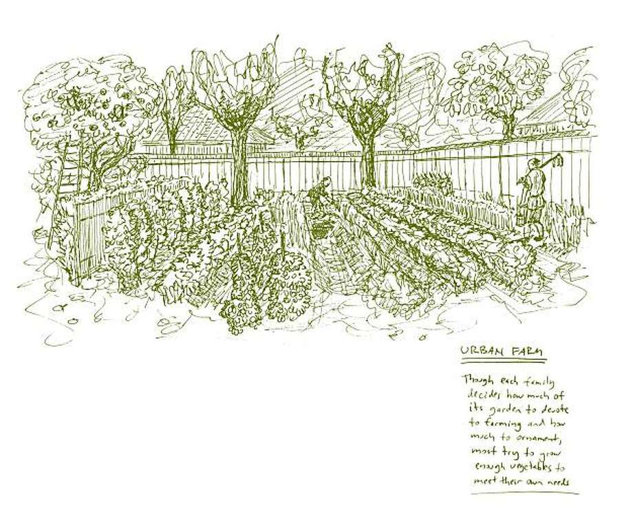 "The urban farm, from ""Just Enough,"" by Azby Brown. Photo: Kodansha International"