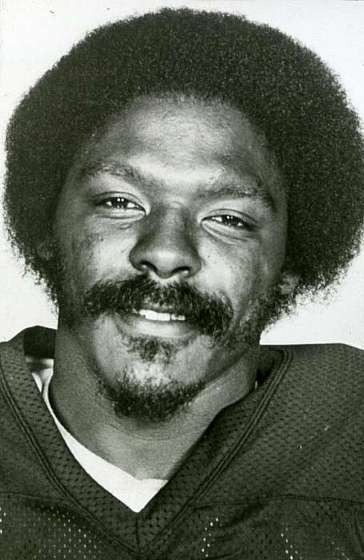 Jack Tatum of the Oakland Raider circa 1980. From Chronicle library files