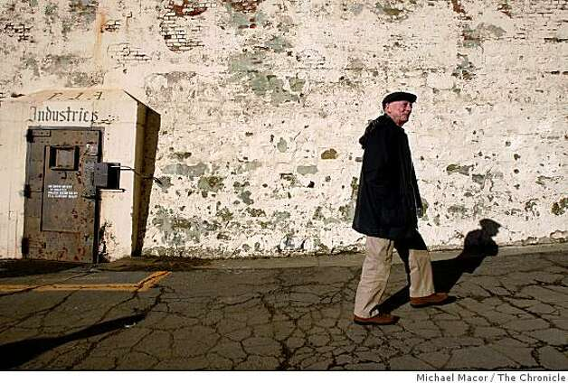 "Alan Mandell is an original cast member of the play, ""Looking for Godot"" which was performed in 1957 at San Quentin State Prison in San Rafael, Calif., Mandel visits the prison on Friday Dec. 19, 2008. Photo: Michael Macor, The Chronicle"