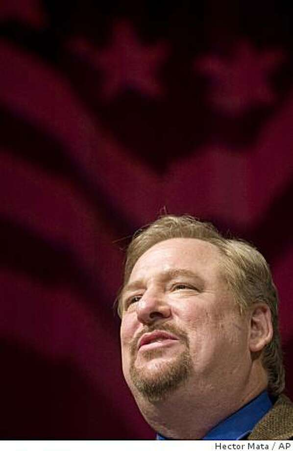 The Rev. Rick Warren, was invited  by President- elect Barack Obama to deliver the invocation at the presidential inauguration. Rep. Barney Frank and other gay leaders have criticized . Photo: Hector Mata, AP