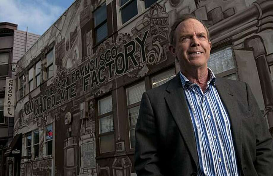 Mike Litton, founder and CEO of Bridge Brands, which recently changed its name from the San Francisco Chocolate Company, is pictured at the company's headquarters in San Francisco, Calif., on Friday, July 30, 2010. Photo: Chad Ziemendorf, The Chronicle
