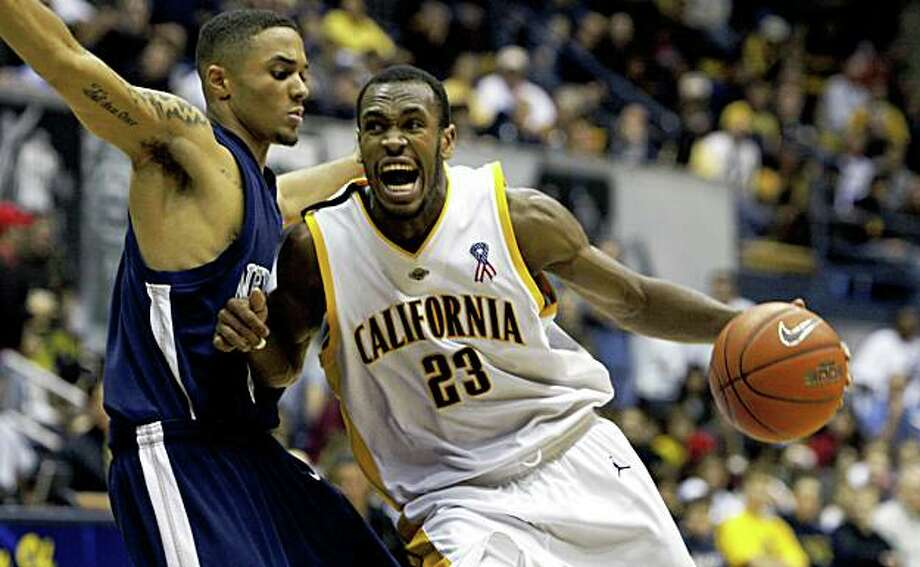 Cal's Patrick Christopher drives to the basket in 4th period action. California defeated Nevada at Reno 75-66 in Berkeley  Dec 20, 2008. Photo: Lance Iversen, The Chronicle