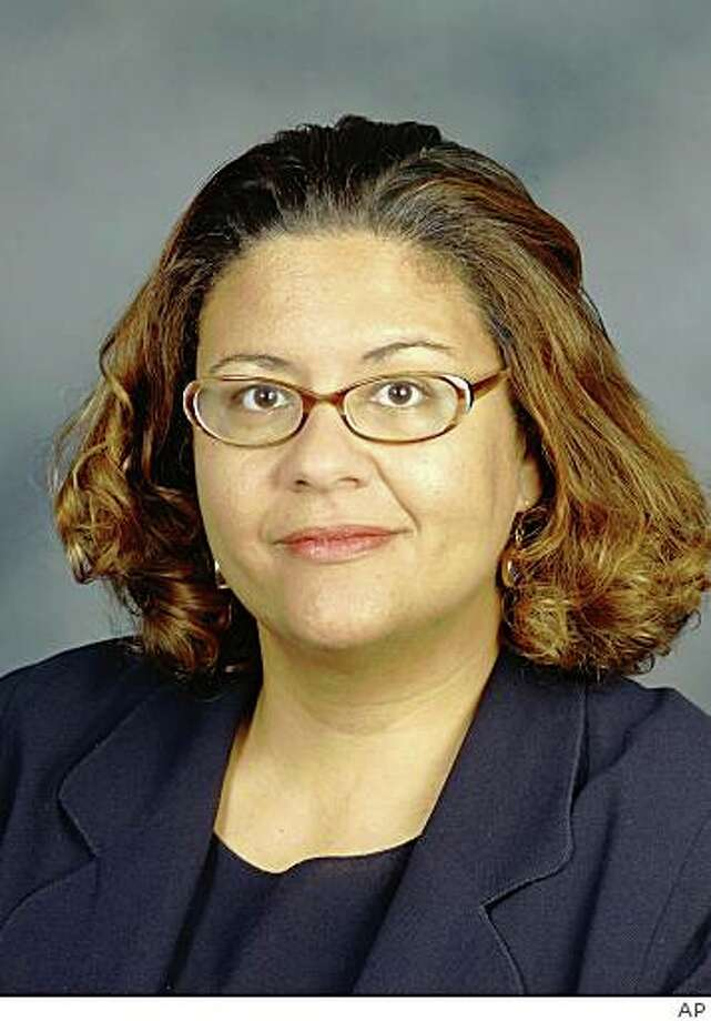 This undated photo provided by Yale University shows Elizabeth Alexander. Alexander, a professor of African-American Studies at Yale University in New Haven, Conn., is to read a poem at the Jan, 2009 inauguration of Barack Obama.  (AP Photo/Yale University)  ** NO SALES  ** Photo: AP