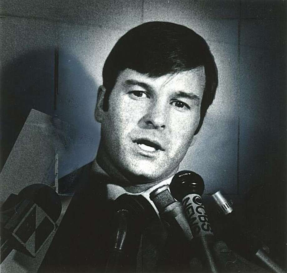 San Francisco Supervisor Dan White in 1977. Photo: Chronicle File Photo