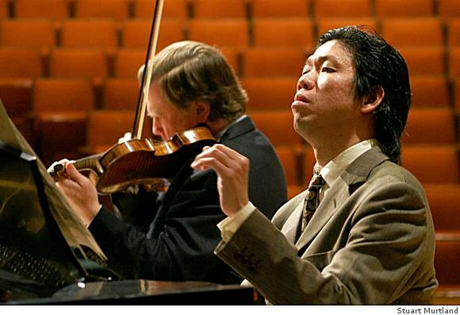 Violinist James Buswell and pianist Meng-Chieh Liu will perform at the Nevada Chamber Music Festival in Reno Dec. 28-31. Photo: Stuart Murtland