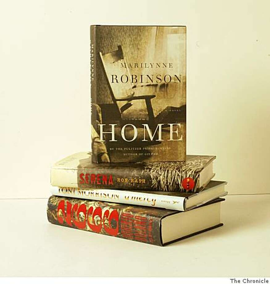 arrangement of best fiction books of 2008 Photo: The Chronicle