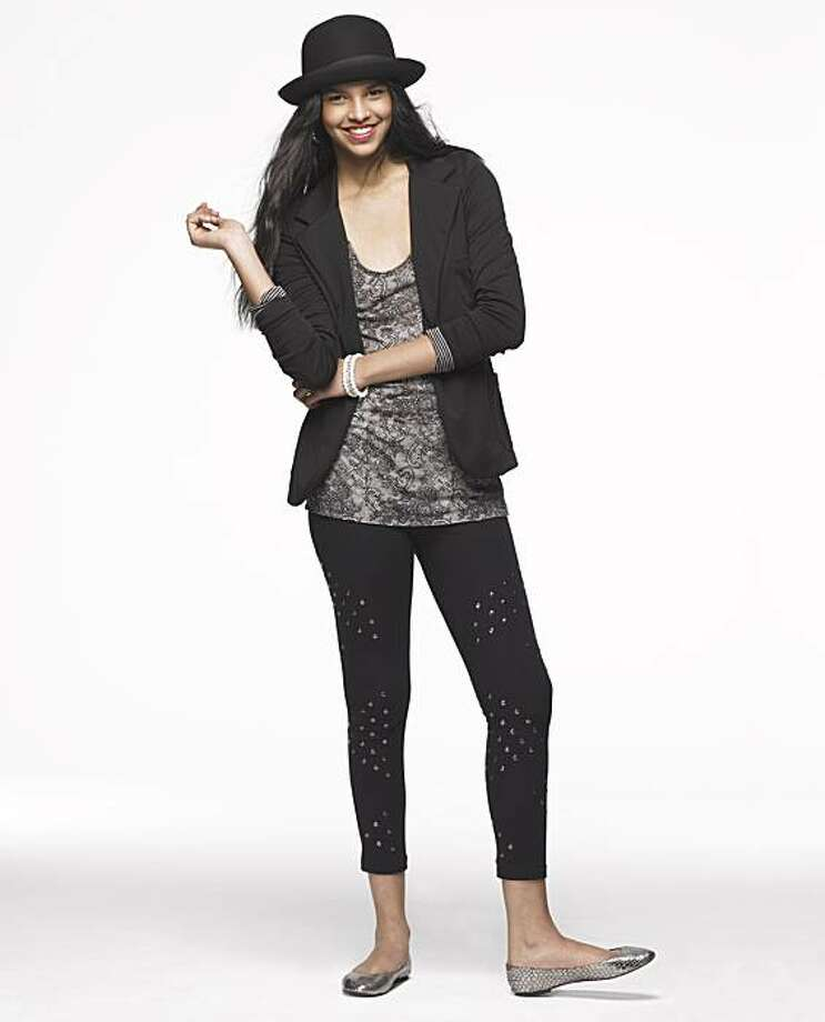 A look from Madonna's Material Girl juniors line that will roll out at Macy's stores starting Aug. 3. Photo: Macy's