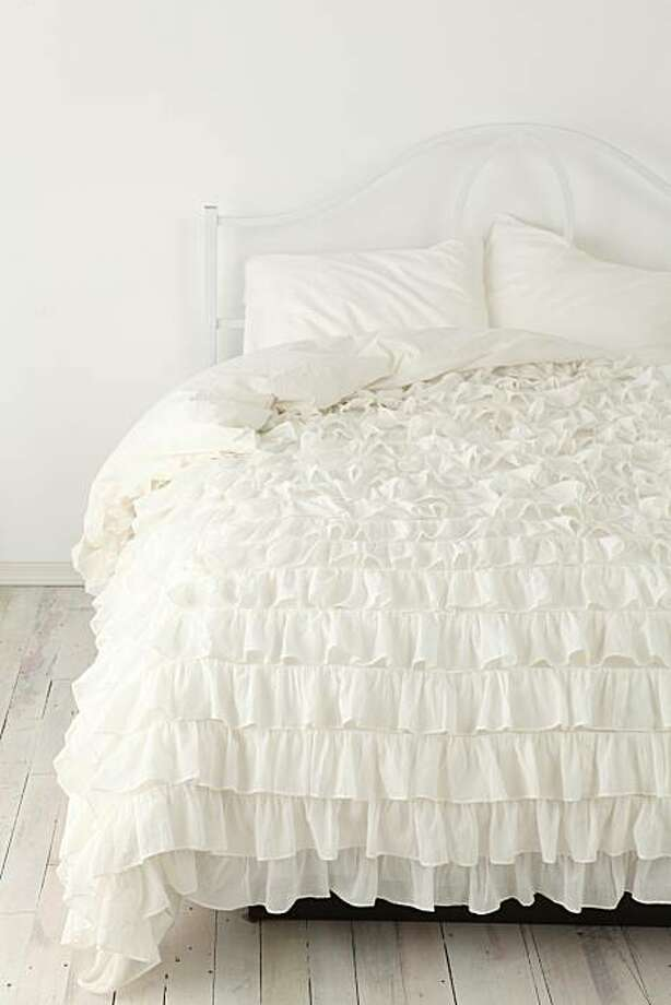 Urban Outfitters' Waterfall Ruffle Duvet Cover Photo: Urban Outfitters