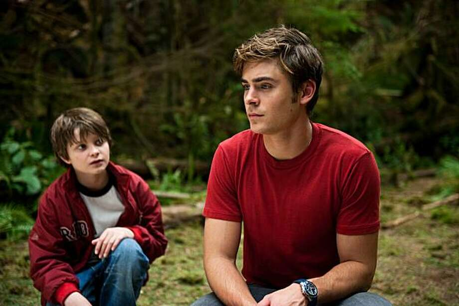 (L to R) Sam (CHARLIE TAHAN) and his brother, Charlie (ZAC EFRON), in the romantic drama ?Charlie St. Cloud?.  In this emotionally charged story, Charlie begins a romantic journey in which he embraces the past while discovering the purpose of his life and the transformative power of love. Photo: Diyah Pera, Universal Pictures