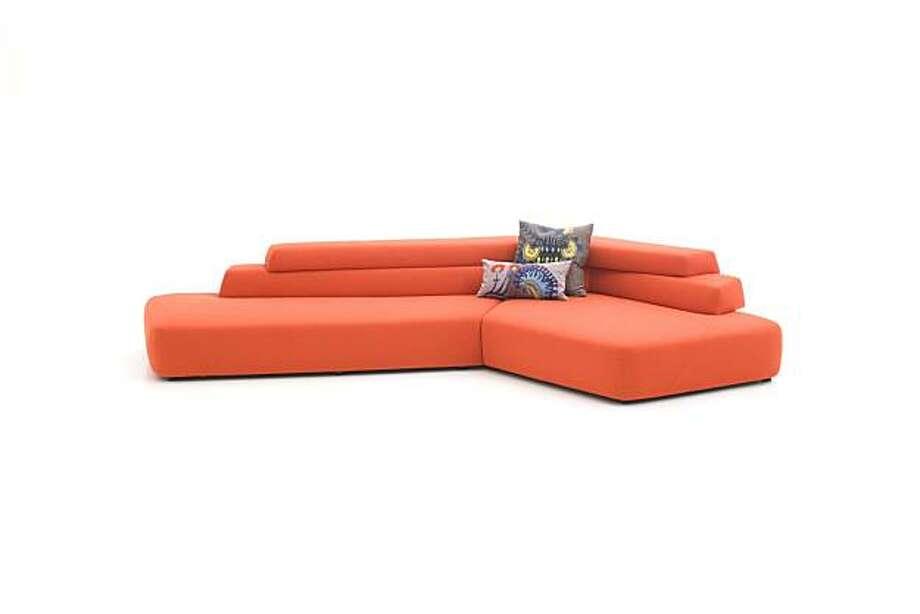 Rift sofa Photo: Moroso