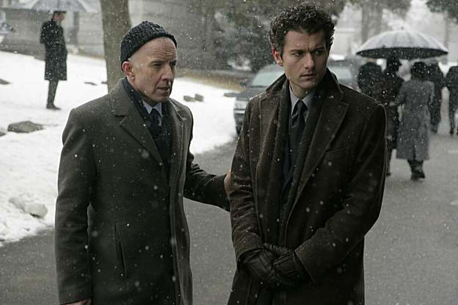 "Kale Ingram (Arliss Howard), left, and Will Travers (James Badge Dale) appear in a scene from, ""Rubicon."" Photo: AMC"