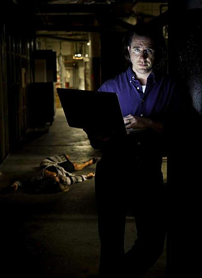 """Author Barry Eisler, who trained for 3 years with the CIA and later practiced technology law, has come out with a new book, """"Inside Out.""""  Eisler is seen on Tuesday, July 13, 2010 in San Francisco, Calif. Photo: Russell Yip, The Chronicle"""