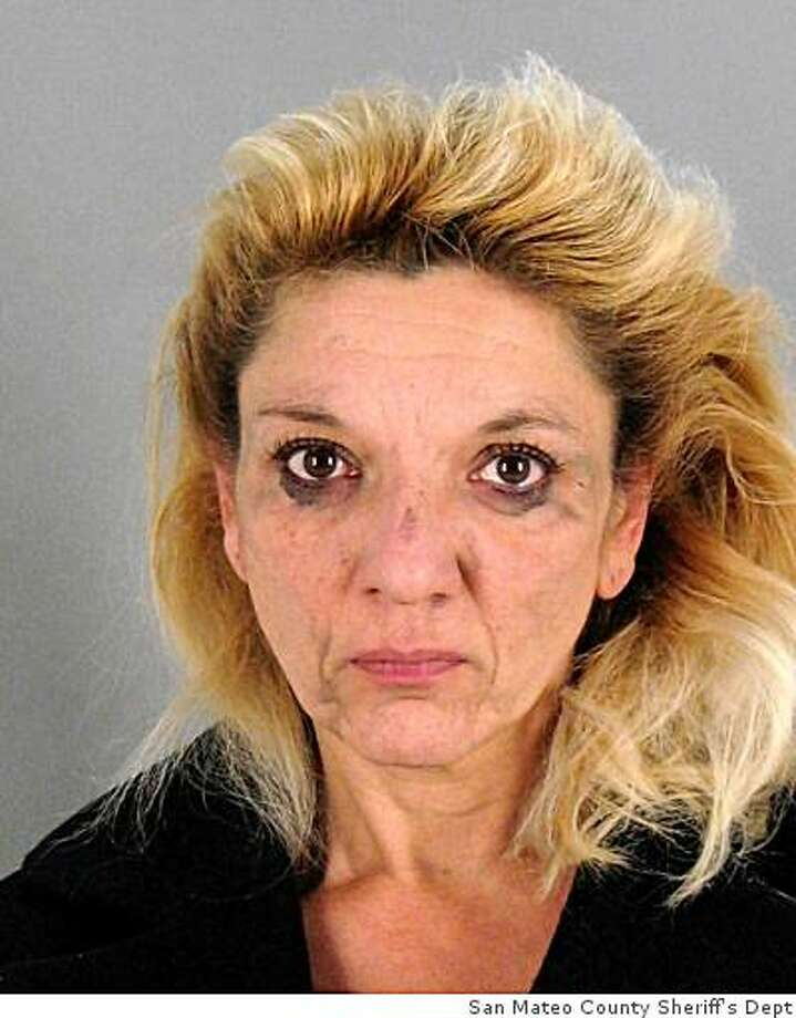 Janet Adams, a self-proclaimed psychic accused of theft charges for allegedly cheating an elderly client out of $80,000. Photo: Xx, San Mateo County Sheriff's Dept