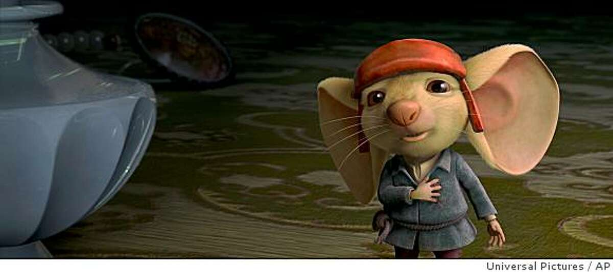 In this image released Universal Pictures, noble mouse Despereaux, voiced by Matthew Broderick, is shown in a scene from