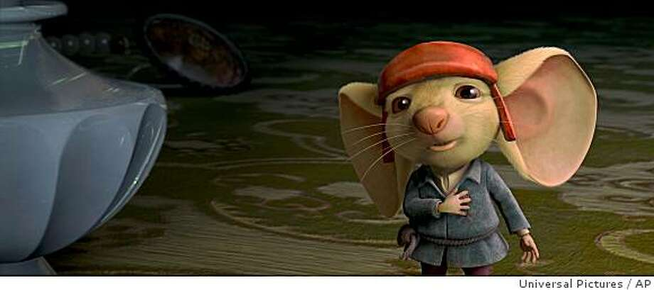 "In this image released Universal Pictures, noble mouse Despereaux, voiced by Matthew Broderick, is shown in a scene from ""The Tale of Despereaux."" Photo: Universal Pictures, AP"