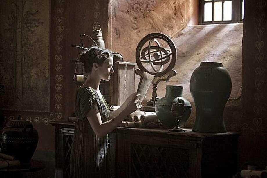 "Rachel Weisz stars in, ""Agora."" Photo: Teresa Isasi, Newmarket Films"
