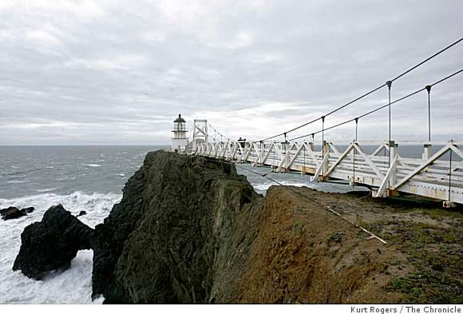 A behind-the-scenes tour of Point Bonita Lighthouse takes place this weekend. Photo: Kurt Rogers, The Chronicle