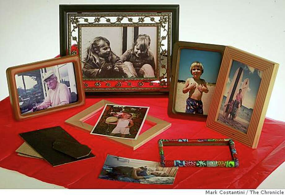 Favorite photos personally framed are a good last-minute gift idea. Photo: Mark Costantini, The Chronicle