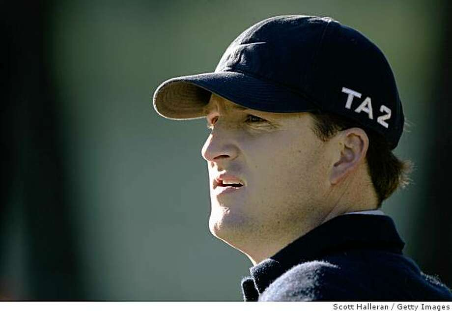 PEBBLE BEACH, CA - FEBRUARY 5:  Casey Martin at Poppy Hills Golf Course during the first round of the AT&T Pebble Beach National Pro-Am on February 5, 2004 in Pebble Beach, California. (Photo by Scott Halleran/Getty Images) Photo: Scott Halleran, Getty Images