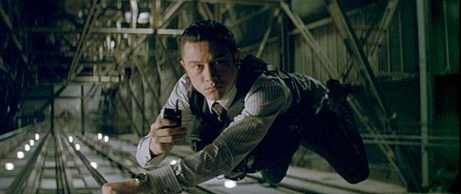 "JOSEPH GORDON LEVITT as Arthur in Warner Bros. Pictures' and Legendary Pictures' sci-fi action film ""INCEPTION,"" a Warner Bros. Pictures release. Photo: Courtesy, Warner Entertainment"