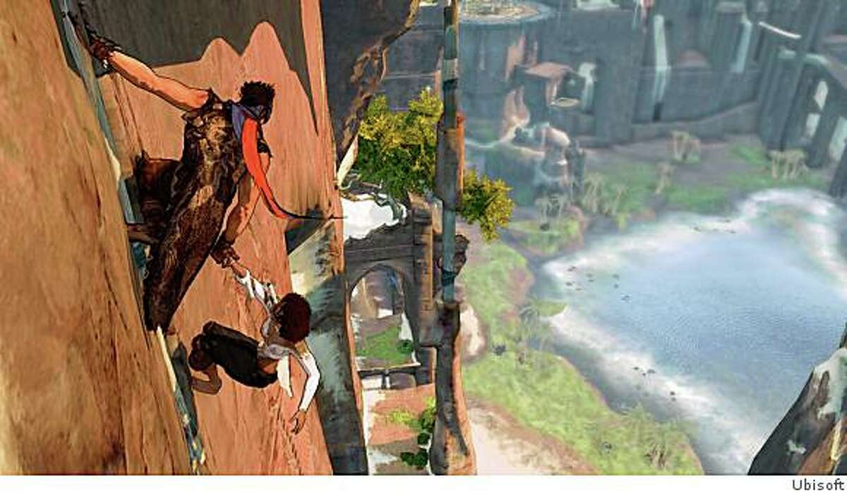 The new Prince of Persia features much more expansive environments to navigate through.