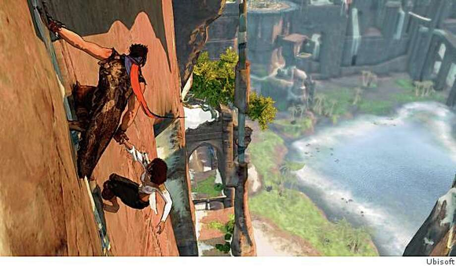 The new Prince of Persia features much more expansive environments to navigate through. Photo: Ubisoft