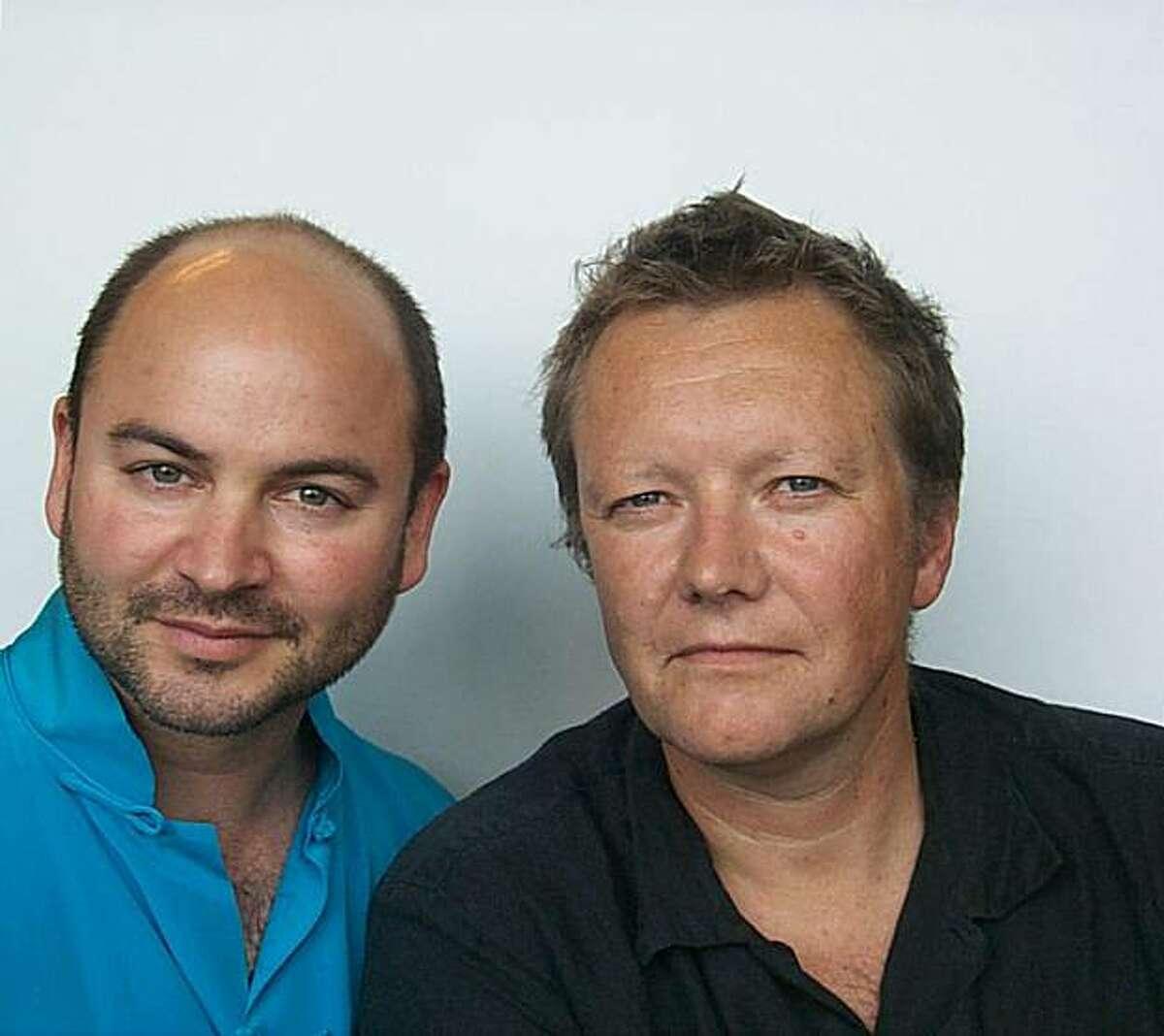 Craig Dykers and Kjetil Thorsen of Snohetta.