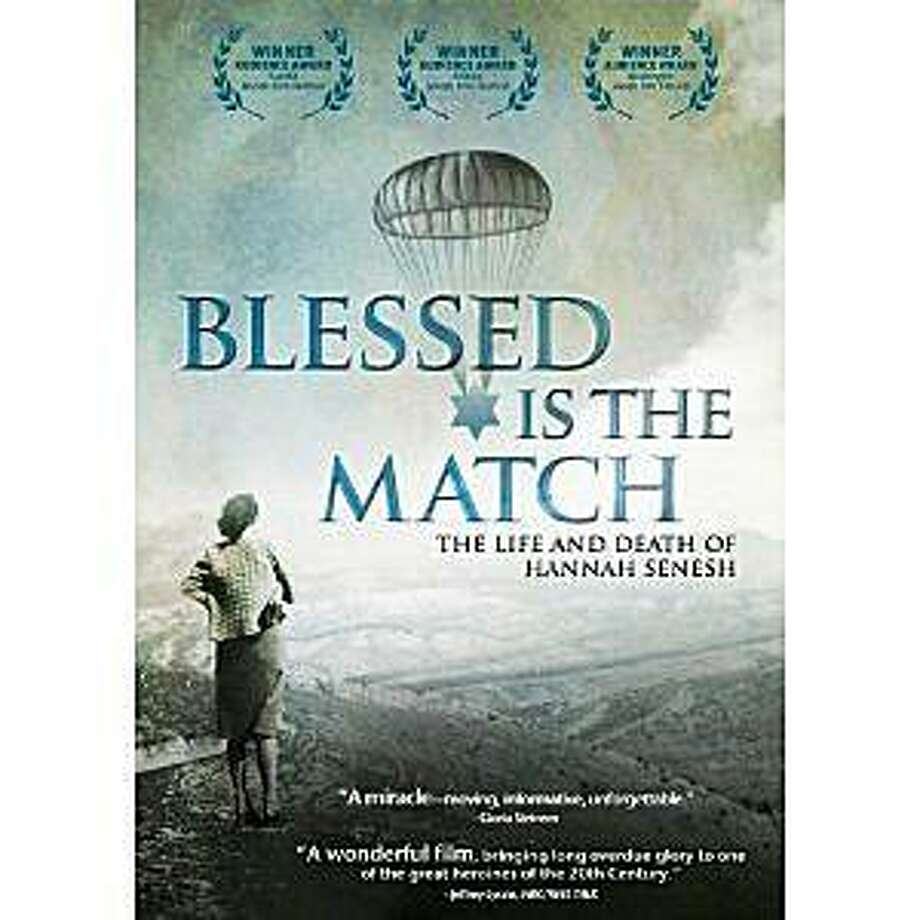 dvd cover: BLESSED IS THE MATCH: THE LIFE AND DEATH OF HANNAH SENESH Photo: Amazon.com