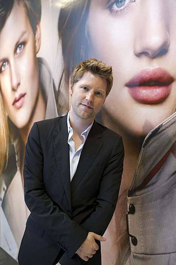 Christopher Bailey, chief creative officer for London's Burberry fashion house, came to San Francisco July 13, 2010, for the launch of the company's makeup line, to be carried exclusively by Nordstrom stores and online at Burberry.com. Photo: Drew Altizer