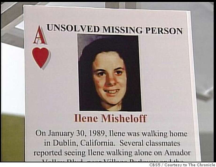 The Alameda County Sheriff's Dept. is issuing a set of playing cards with photos of victims of unsolved homicides and missing persons cases to 4,400 inmates. Photo: CBS5, Courtesy To The Chronicle
