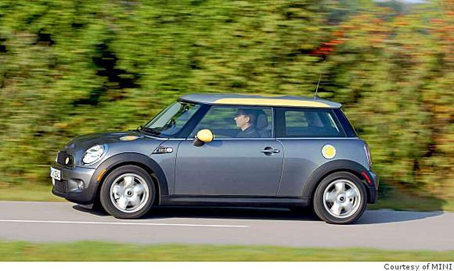 MINI is currently developing a pure electric vehicle called the MINI E. Photo: Courtesy Of MINI