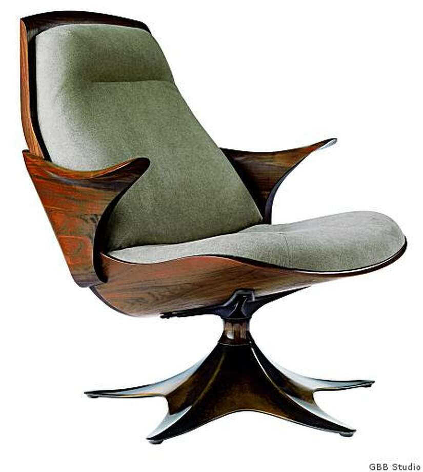 The Kinesis Silo chair by Thomas Moser Photo: Thos. Moser GBB Studio, GBB Studio