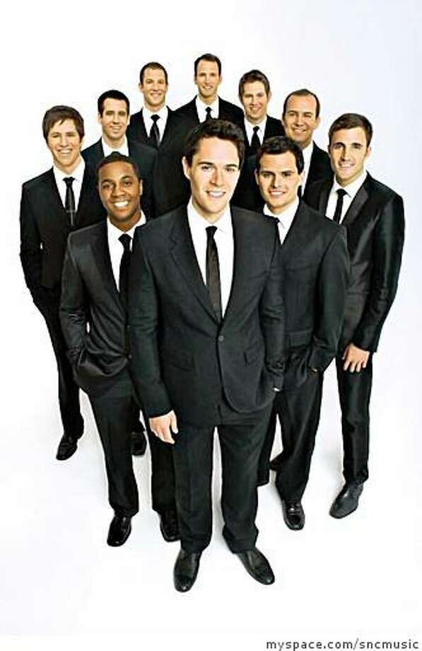 The Straight No Chaser choral group. Photo: Myspace.com/sncmusic