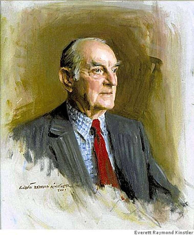 "Portrait of Louis Auchincloss by Everett Raymond Kinstler / From ""Last of the Old Guard"" by Louis Auchincloss Photo: Everett Raymond Kinstler"