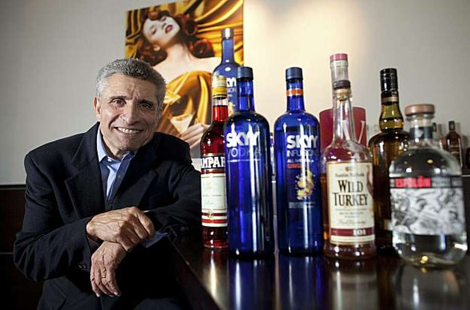 Gerry Ruvo, chairman and chief executive officer of Skyy Spirits LLC, poses for a photograph at the Skyy Spirits office in San Francisco, California, U.S., on Thursday, July 15, 2010. When flavored vodkas emerged as Skyy's second-biggest moneymaker, Ruvo made a surprise decision: He killed off the business and switched to infused vodka. The gamble paid off, and the new alcohol category now has double the sales of the discontinued line. Photographer: David Paul Morris/Bloomberg *** Local Caption *** Gerry Ruvo Photo: David Paul Morris, Bloomberg