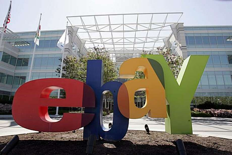FILE - In this April 22, 2009 file photo, the exterior of eBay offices in San Jose, Calif., is shown. EBay Inc. will release quarterly earnings at the close of the market, Wednesday, July 22, 2009. (AP Photo/Paul Sakuma, file) Photo: Paul Sakuma, Associated Press