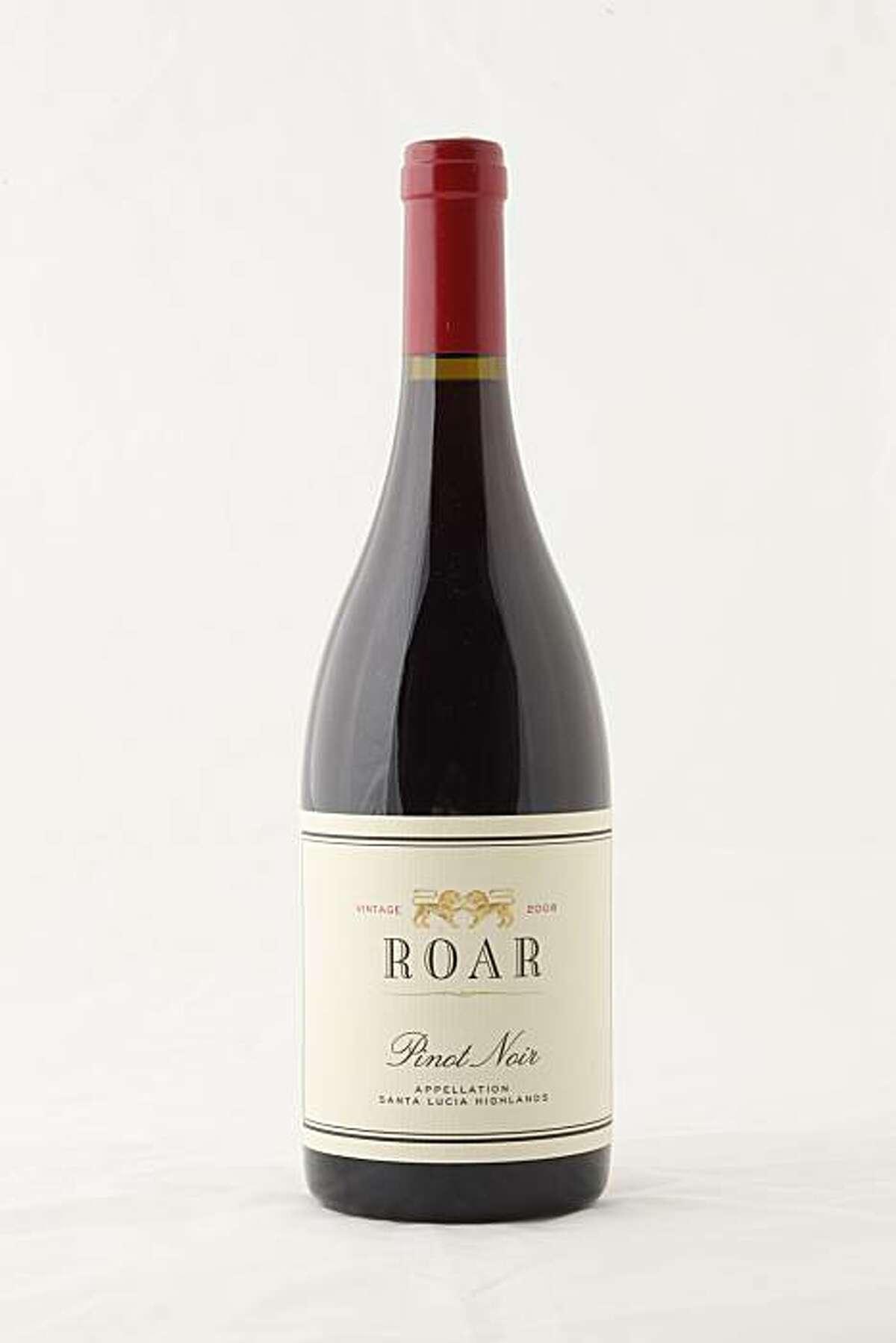 2008 Roar Wines Santa Lucia Highlands Pinot Noir in San Francisco, Calif., on July 14, 2010.
