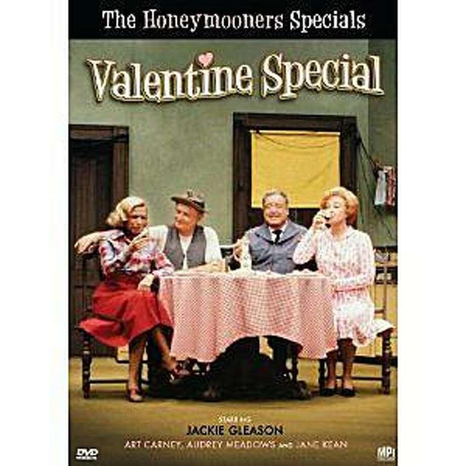 DVD cover: THE HONEYMOONERS: VALENTINE SPECIAL Photo: Amazon.com