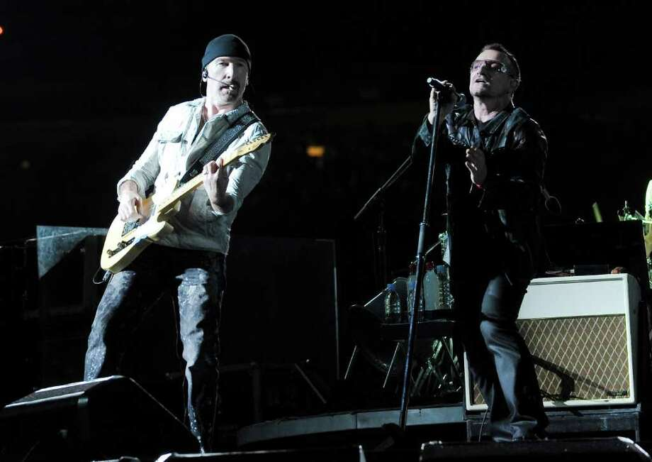 U2's The Edge named his child Blue Angel. (AP) See more bizarre celebrity kid names on Cracked.com Photo: Evan Agostini, AP / AP2009