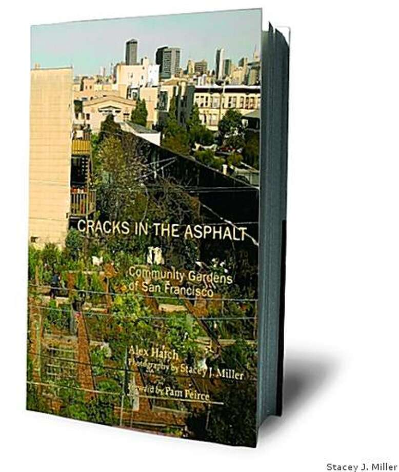 Cracks in the Asphalt: Community Gardens in San Francisco; a book by Alex Hatch, photography by Stacey J. Miller, foreword by Pam Peirce Photo: Stacey J. Miller