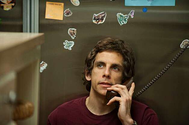 "In this film publicity image released by  Focus Features, Ben Stiller is shown during a scene from ""Greenberg."" Photo: Wilson Webb, AP"