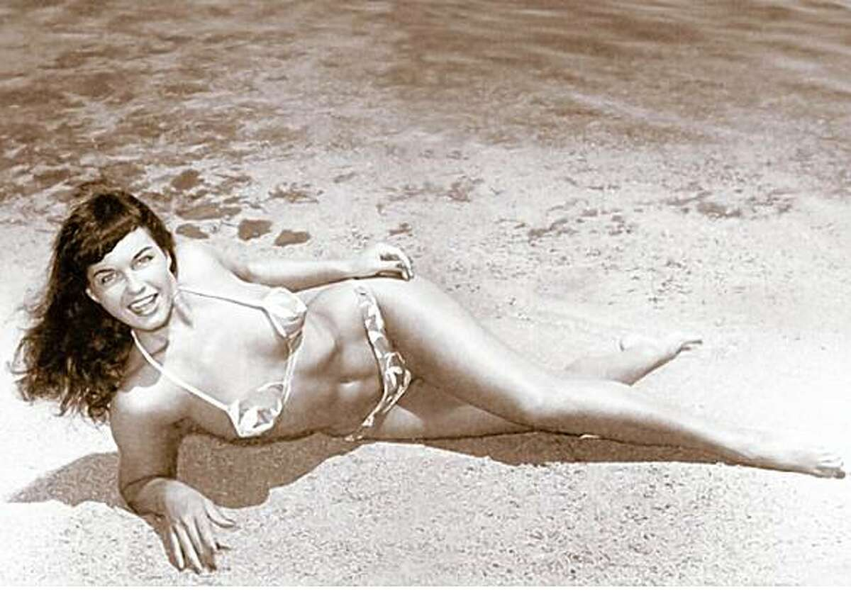 The real Bettie Page, subject of the film 'The Notorious Bettie Page.