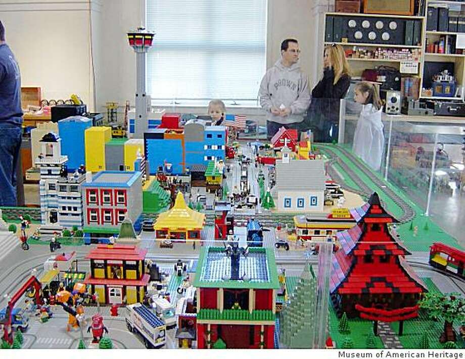 The Bay Area Lego User Group holds monthly shows at the Museum of american Heritage in Palo Alto. This is a past event. Photo: Museum Of American Heritage