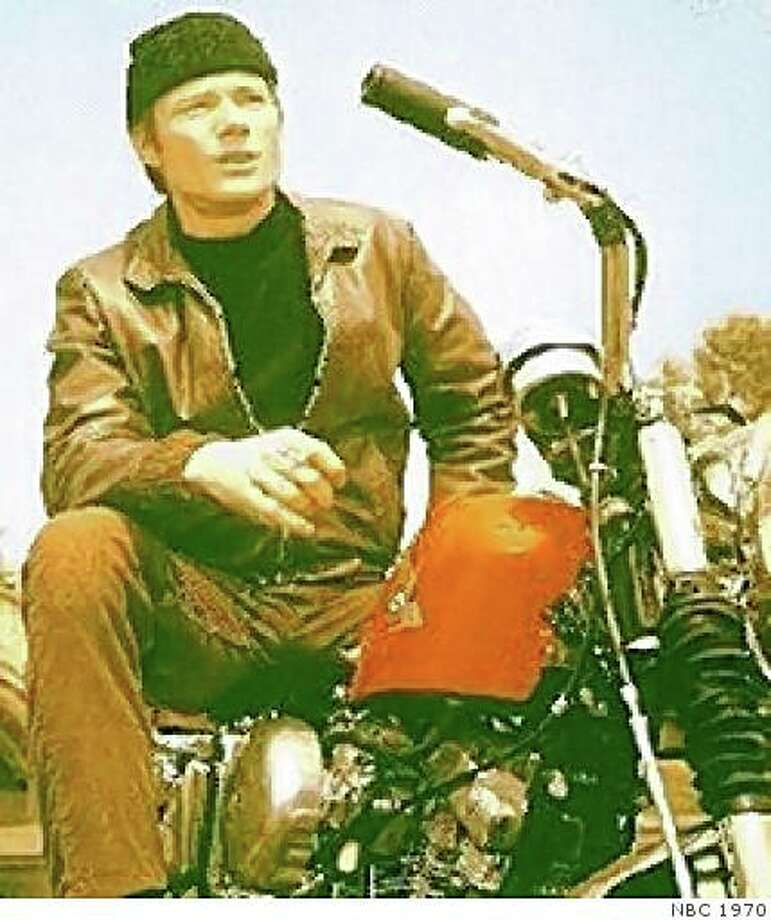 "Michael Parks in ""Then Came Bronson,"" a 1969-70 TV show. Photo: NBC 1970"