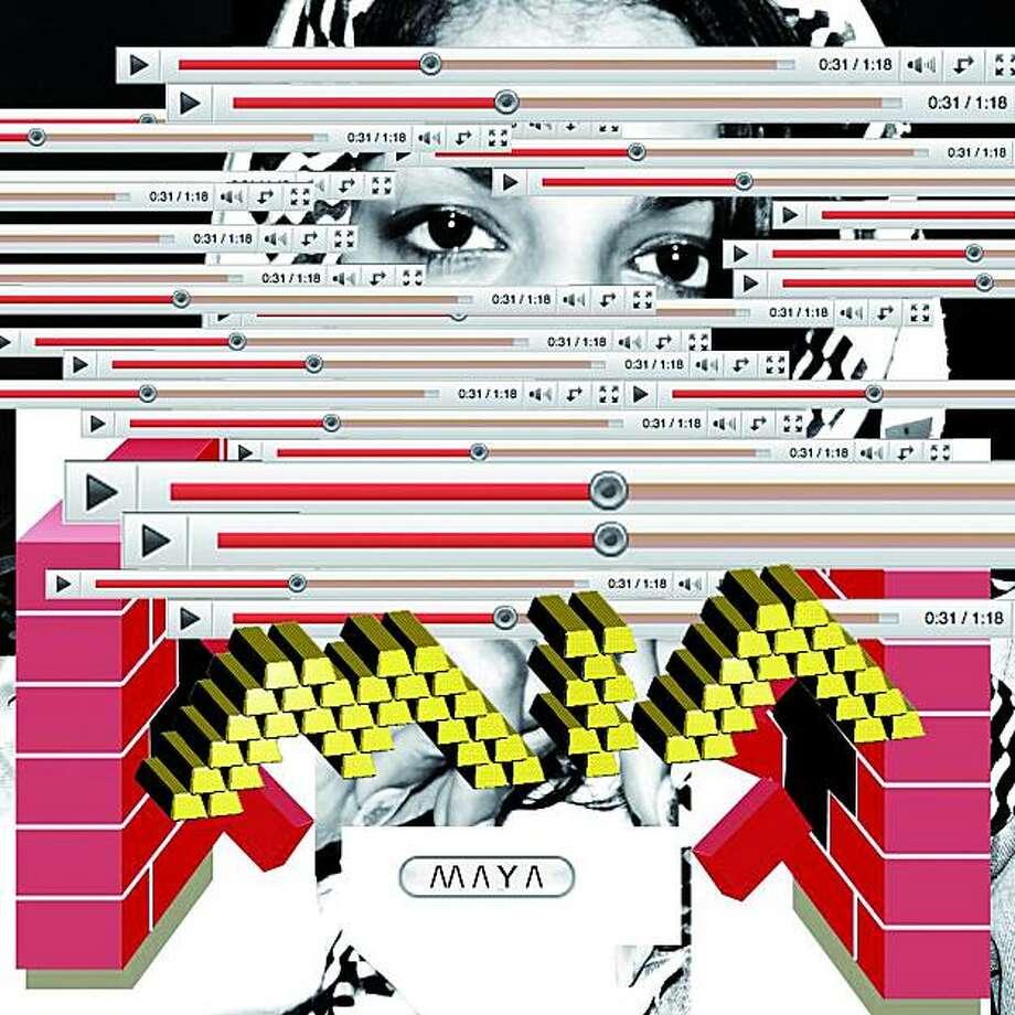 M.I.A., '// / Y /' album art Photo: Interscope