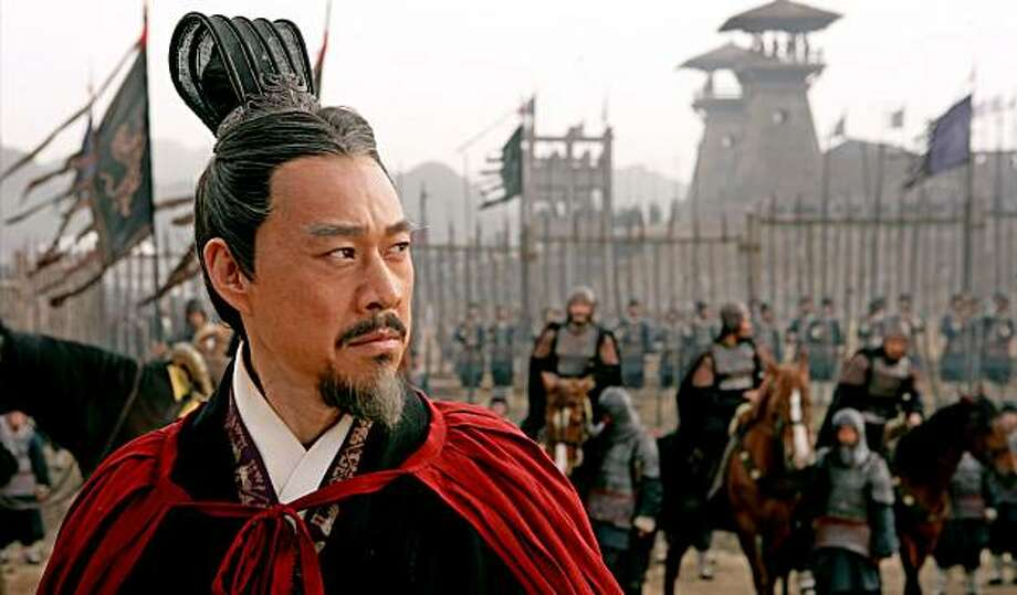 """Fengyi Zhang in John Woo's """"Red Cliff."""" Photo: Magnolia Pictures"""
