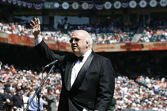 giants04_db.jpg  Jon Miller announces the starting lineups. 2007 Giants Opening Day at AT&T Park Street in San Francisco on Tuesday, April 03, 2007.  photo taken: 04/03/07  Darryl Bush / The Chronicle     **  Jon Miller (cq)  Ran on: 07-08-2007 Jon Miller will handle the in-stadium play-by-play of the Home Run Derby. Ran on: 07-08-2007 Jon Miller will handle the in-stadium play-by-play of the Home Run Derby.