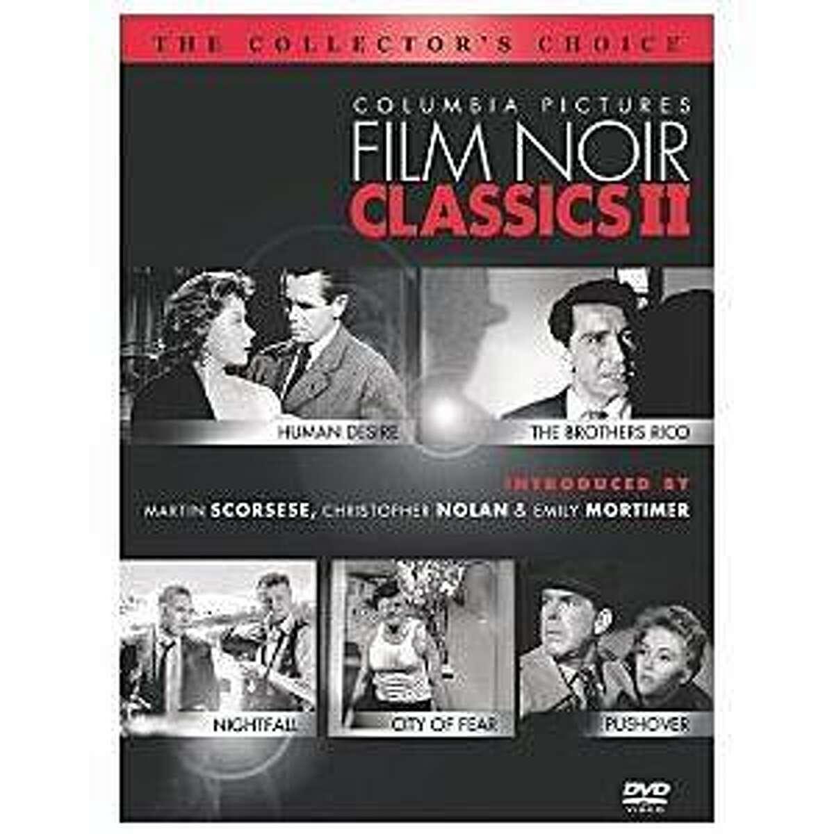 dvd cover COLUMBIA PICTURES FILM NOIR CLASSICS II