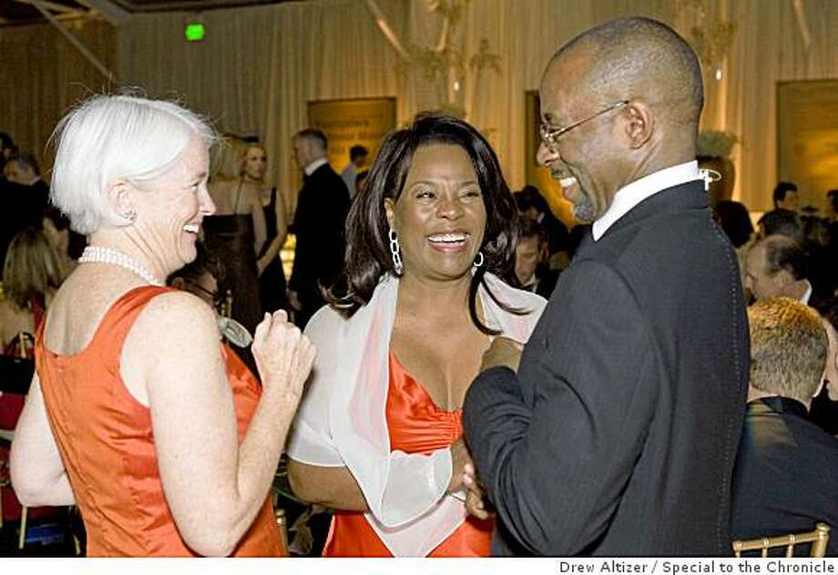 Kathy Duane, Myrtle Potter, Courtney B. VanceEmmy-nominated actor Courtney B. Vance of NBC?s Law & Order-Criminal Intent will serve as the emcee at the Boys & Girls Clubs of the Peninsula?s 50th Anniversary Golden Gala on October 25. Vance is an accomplished actor who has graced both stage and screen with his astounding talent. He was born and raised in Detroit, Michigan and received his BA at Harvard University and his MFA at the Yale School of Drama. As a child, he attended the Boys & Girls Club of Highland Park, MI. and in 2005, was inducted into the Boys & Girls Clubs of America?s Hall of Fame. His acceptance speech was tremendously moving, inspiring the invitation to act as guest Master of Ceremonies at the Boys & Girls Clubs of the Peninsula's 50th Anniversary Golden Gala. Photo: Drew Altizer, Special To The Chronicle