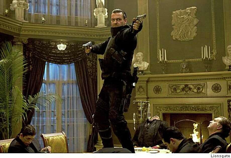 "Ray Stevenson as Frank Castle in ""Punisher: War Zone."" Photo: Lionsgate"